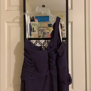 David's Bridal Dresses - David's Bridal Bridesmaid Dress- Lapis